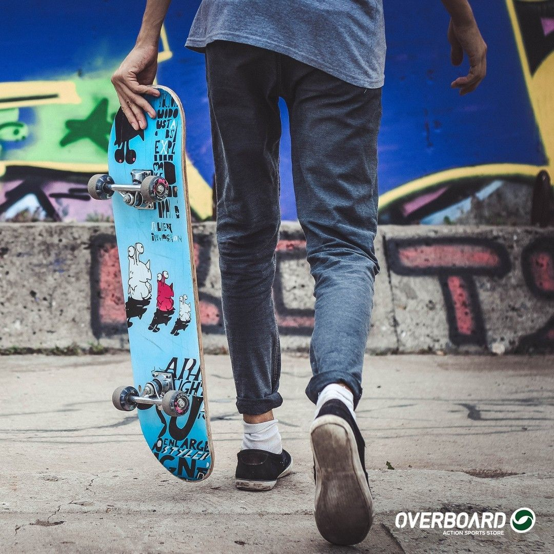 Pin on Overboard Skate