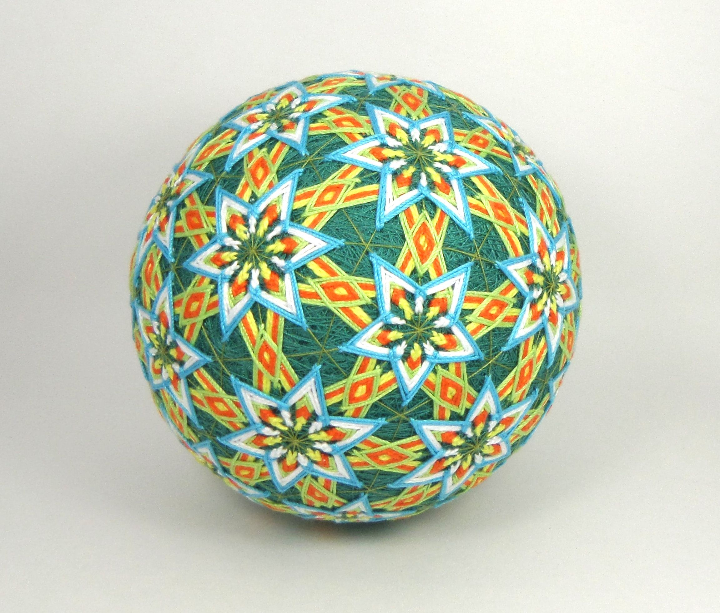 Japanese Temari Ball Handmade Decor Gift Temari Pinterest