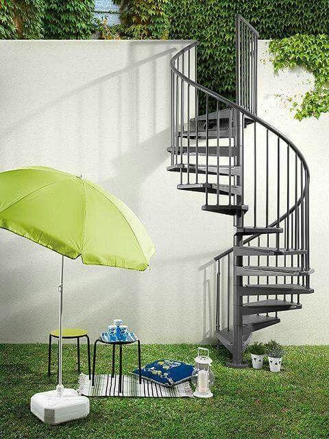 Pin de Grisel Franco en Casa Pinterest Escalera caracol y Escalera