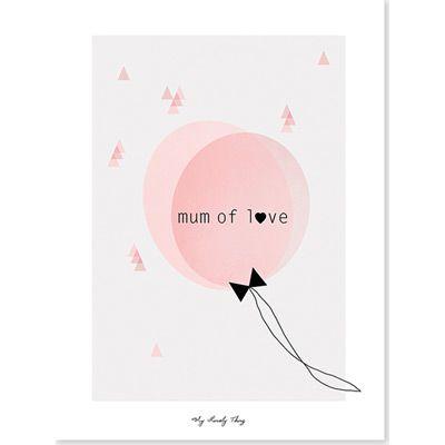 Affiche d'Art Mum of love