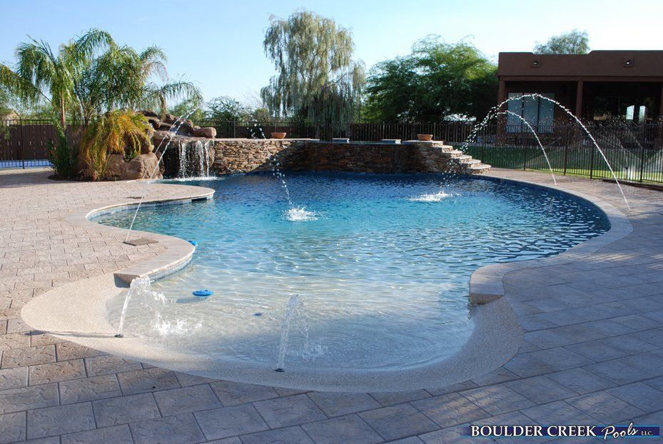 Google image result for http www for Pool design with beach entry