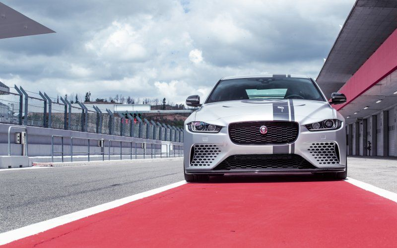 Wallpaper Jaguar Xe Sv Project 8 Sports Car 2018 Cars Wallpapers