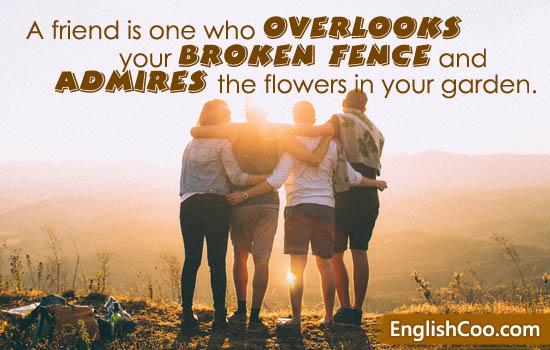 Kata Kata Mutiara Persahabatan Dalam Bahasa Inggris Healthy Life International Friends Friends Image Friends Day