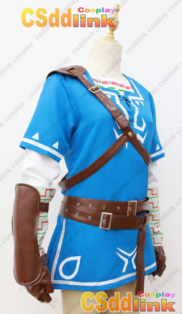 The Legend of Zelda Breath of the Wild cosplay costume whole ...