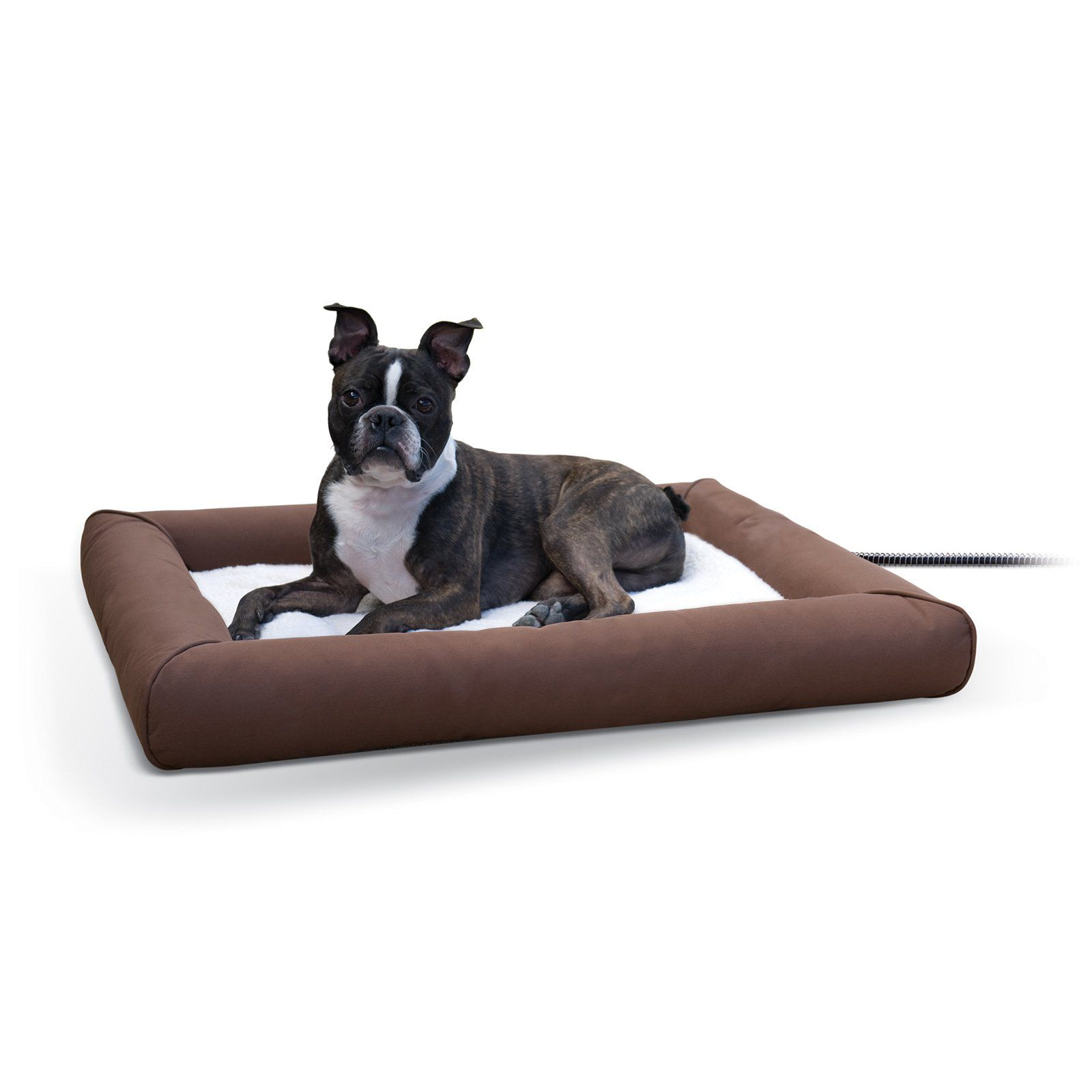 K H Pet Products Deluxe Lectro Soft Outdoor Heated Pet Bed Heated Dog Bed Cool Dog Beds