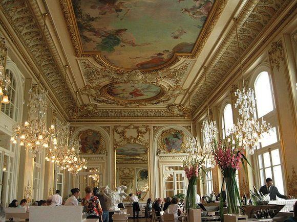 Resultado de imagen de restaurante museo Orsay