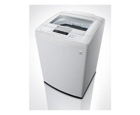 High efficiency, small-space washing machine LG WT1101CW: 4 3 cu  ft