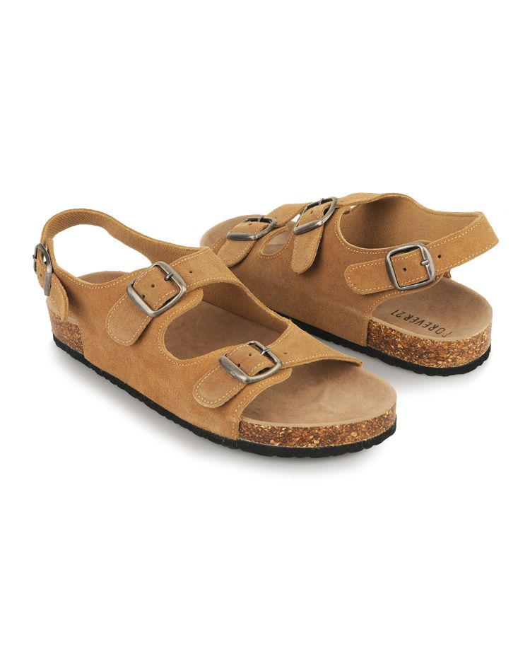 2641231e31ab These Birkenstock-esque sandals from F21 would look good on my feet ...
