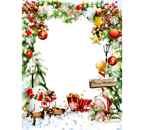 merry christmas frames png psd photoshop png frame wedding