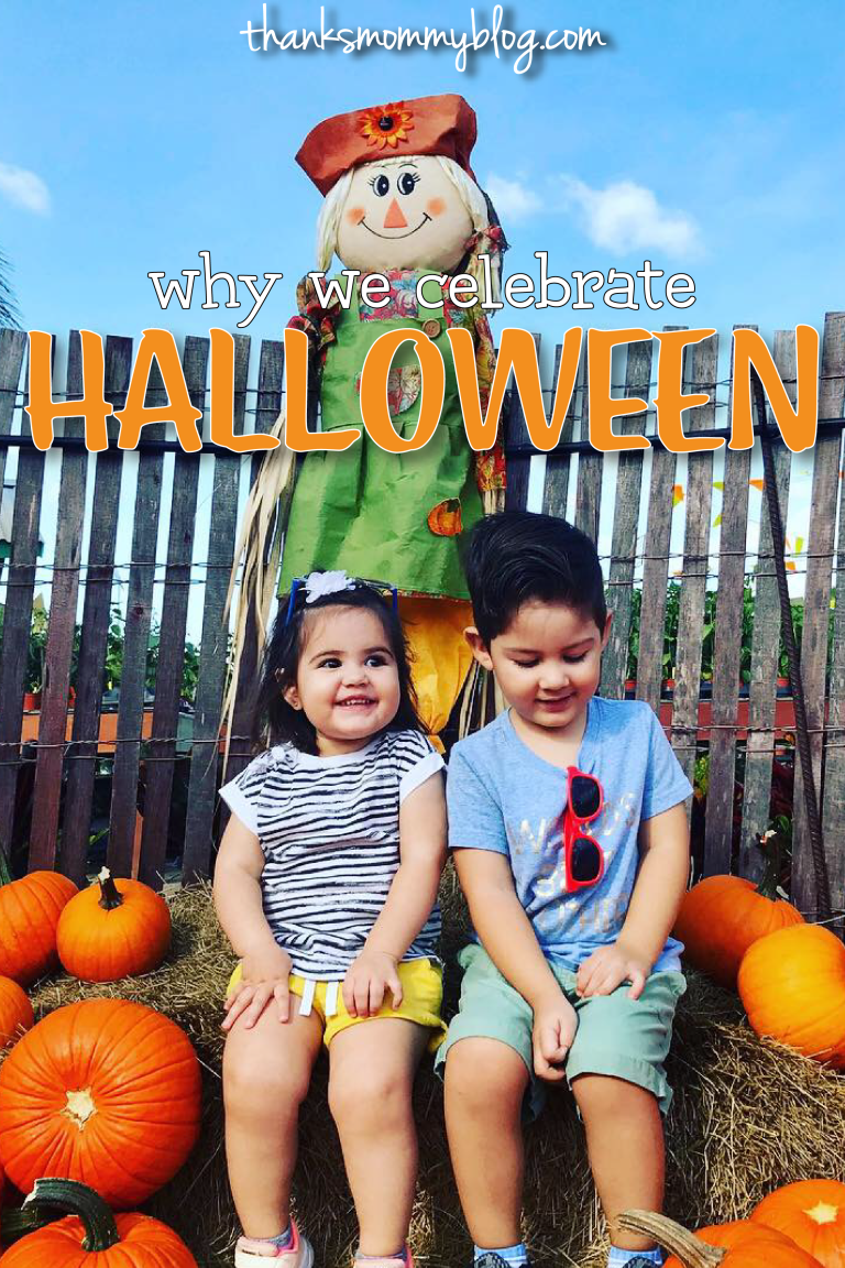 Why Celebrate Halloween with Toddlers Why we celebrate