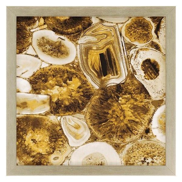 Agate in Gold Framed Wall Art (30.840 RUB) ? liked on Polyvore featuring home  sc 1 st  Pinterest & Agate in Gold Framed Wall Art (30.840 RUB) ? liked on Polyvore ...