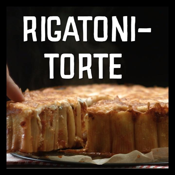 Rigatoni-Torte