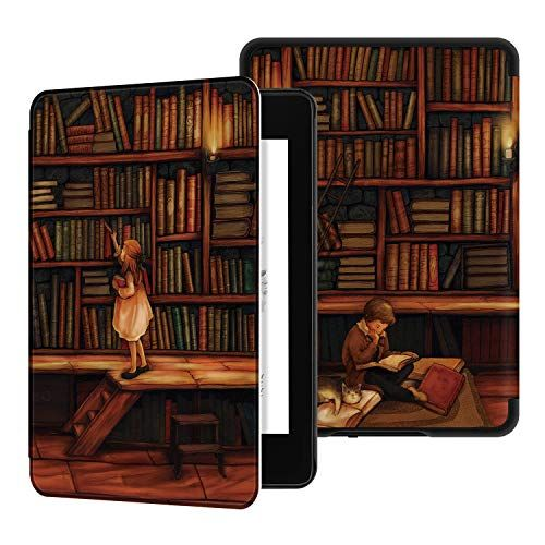 Ayotu Water-Safe Case for Kindle Paperwhite 2018 - PU Lea ...