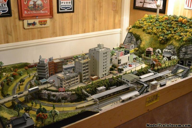A Japanese Themed Model Railway In N Gauge Model Train Forum