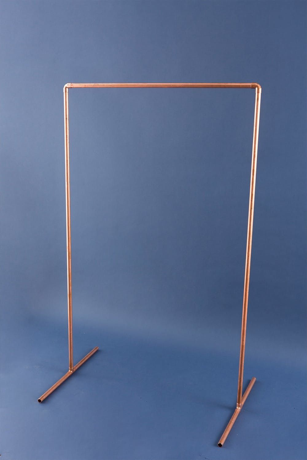 DIY This Copper Pipe Wardrobe in 15 Minutes