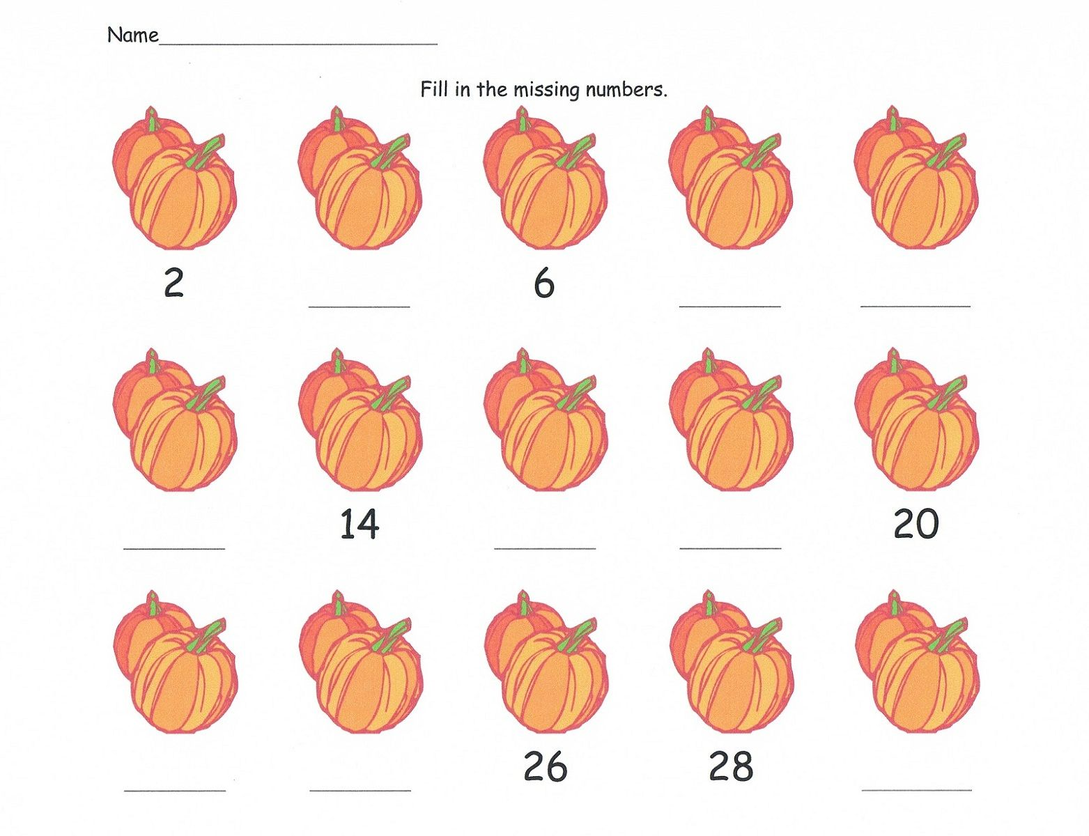 Skip Count Worksheets For Enjoyable Math Learning