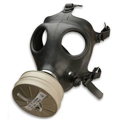 Russian Gas Mask Military Full Protection Sealed Filter w//Bag Size 1