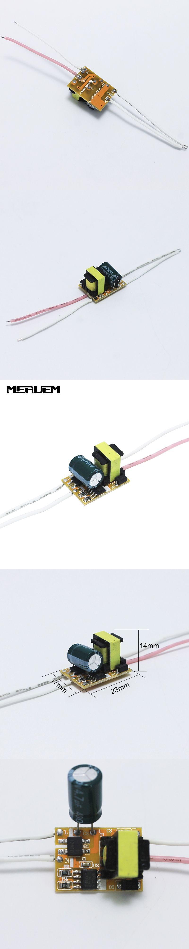 Free Shipping 1 3x 1w 3x1w Led Driver 2w 3w Lamp Power Circuit