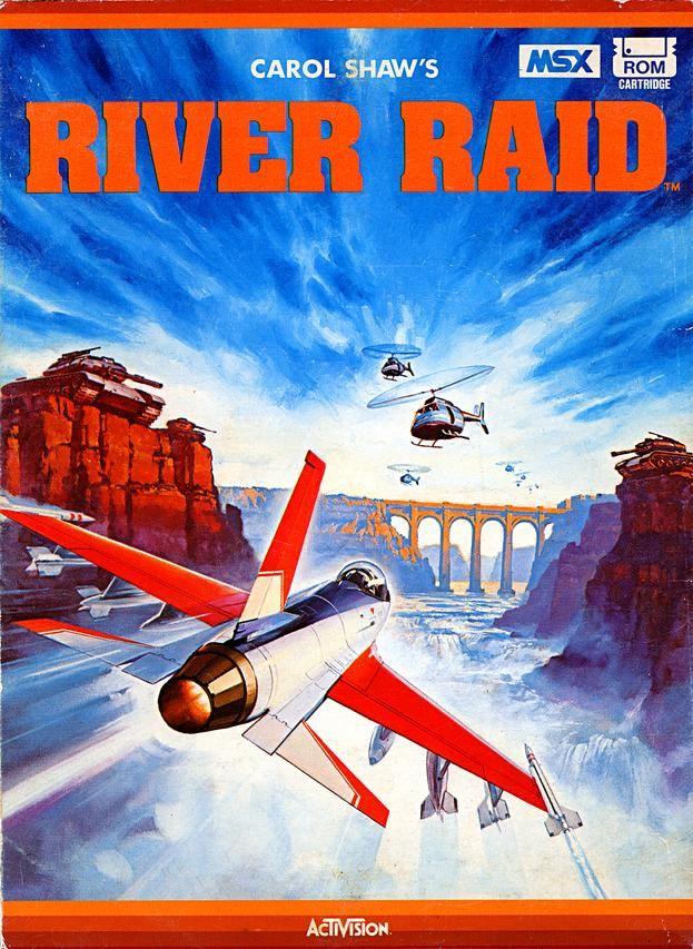 River Raid for MSX.