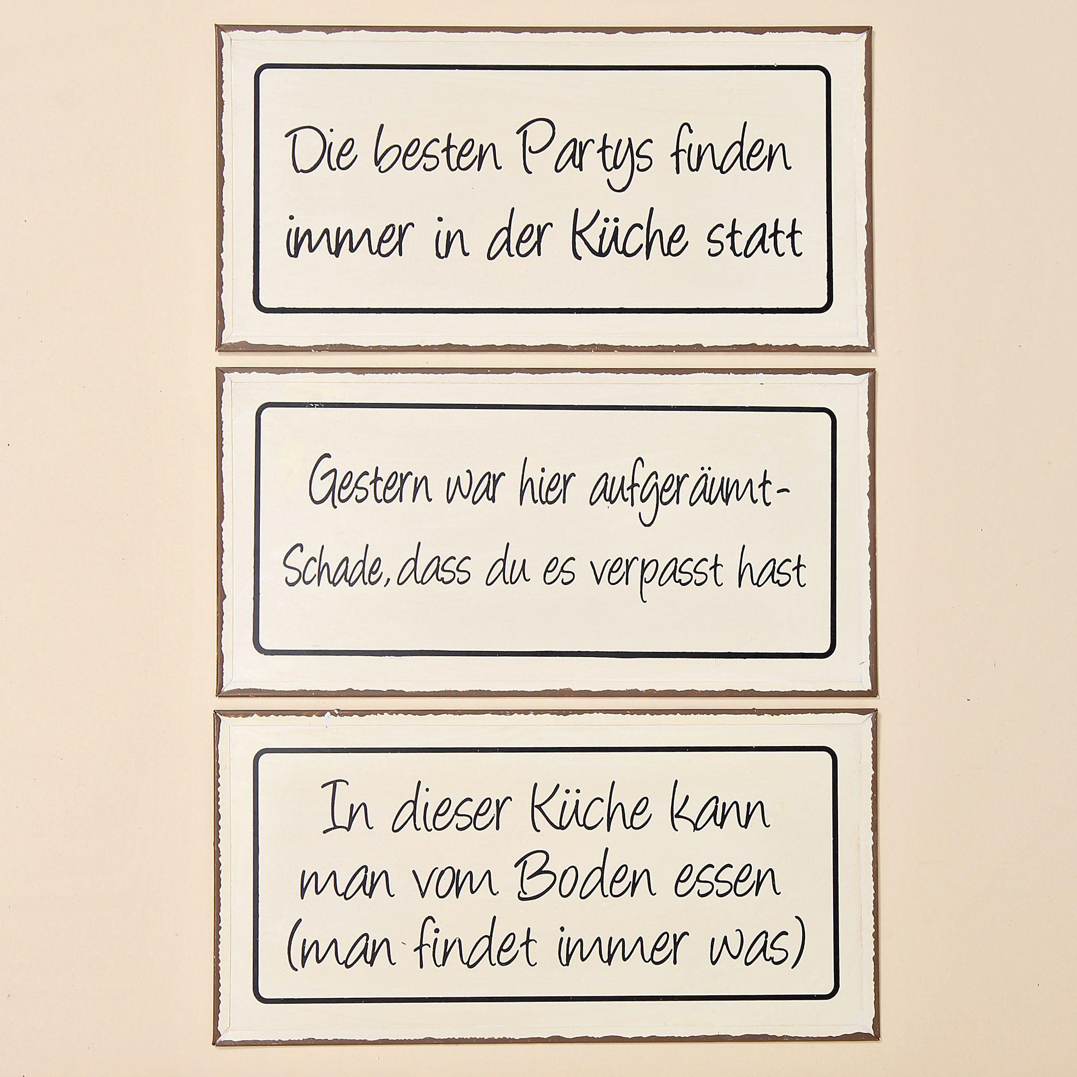 Dieses Schild ist in drei verschiedenen Varianten zu erhalten ...