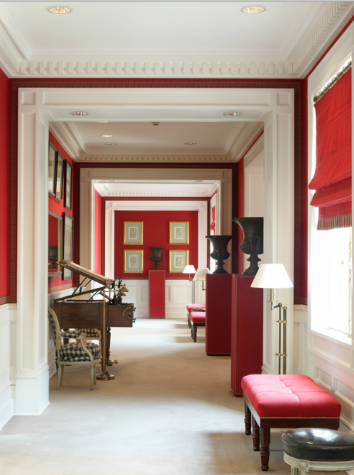 luis bustamante. | Color: Red | Pinterest | Interiors, Foyers and ...