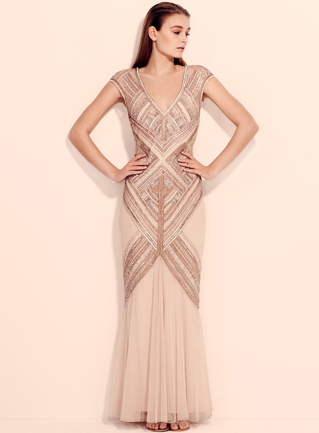 9c707bdd312cd Embellished Maxi Dress - Maxi Dresses - Dress Shop - Miss Selfridge ...