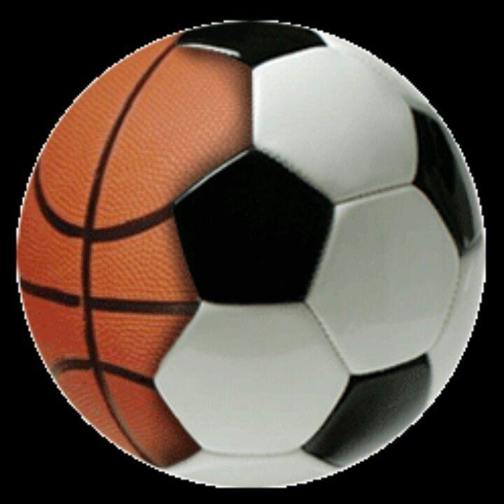 Basketbal And Soccer Are The Best Soccer Basketball Soccer Ball