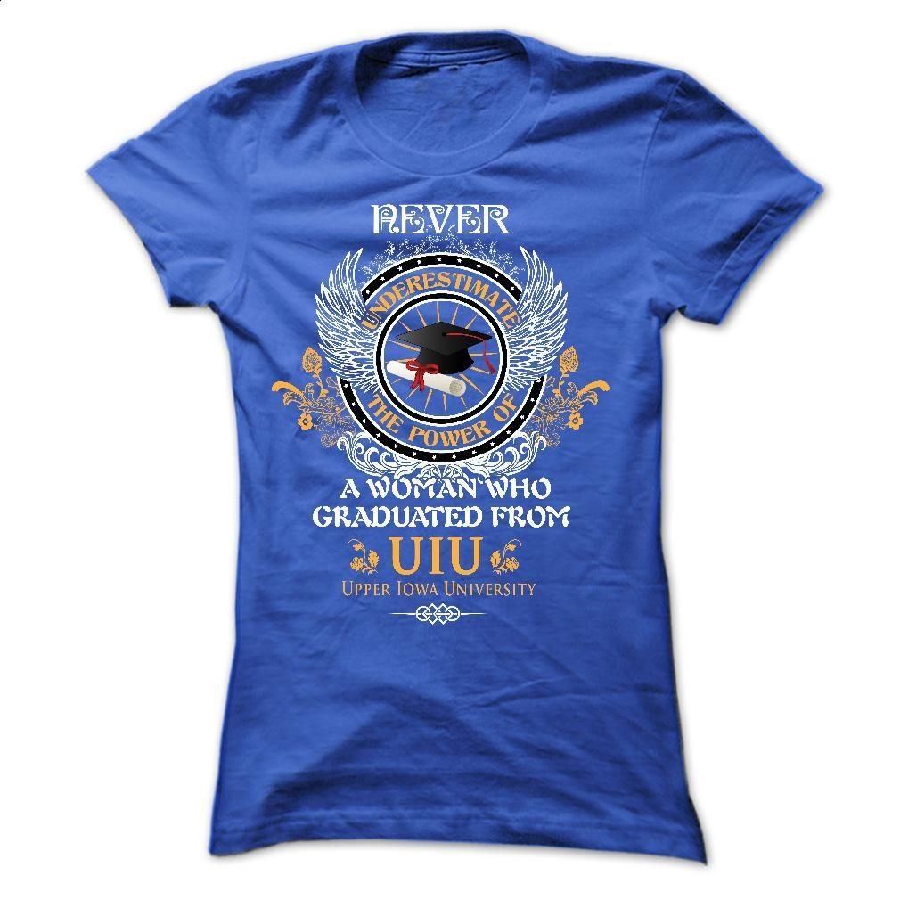 A woman who graduated from Upper Iowa University (UIU) T Shirts, Hoodies, Sweatshirts - #graphic tee #kids hoodies. CHECK PRICE => https://www.sunfrog.com/LifeStyle/A-woman-who-graduated-from-Upper-Iowa-University-UIU.html?id=60505