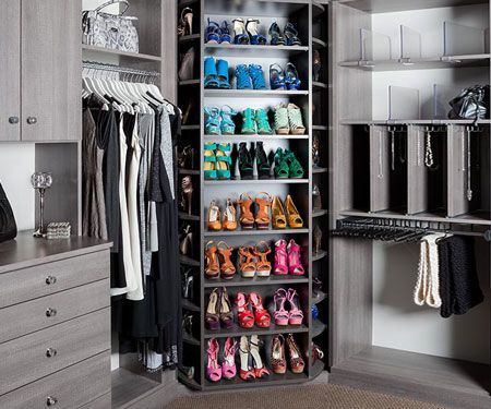 These Revolving Shoe Racks Are The Ultimate Wardrobe Game Changer