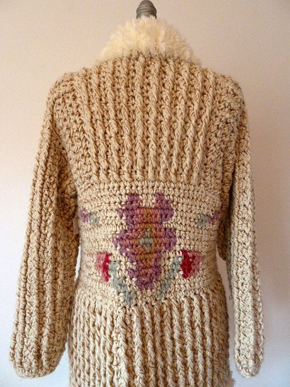 crochet coat | Knit / Crochet Inspirations | Pinterest | Mantel ...