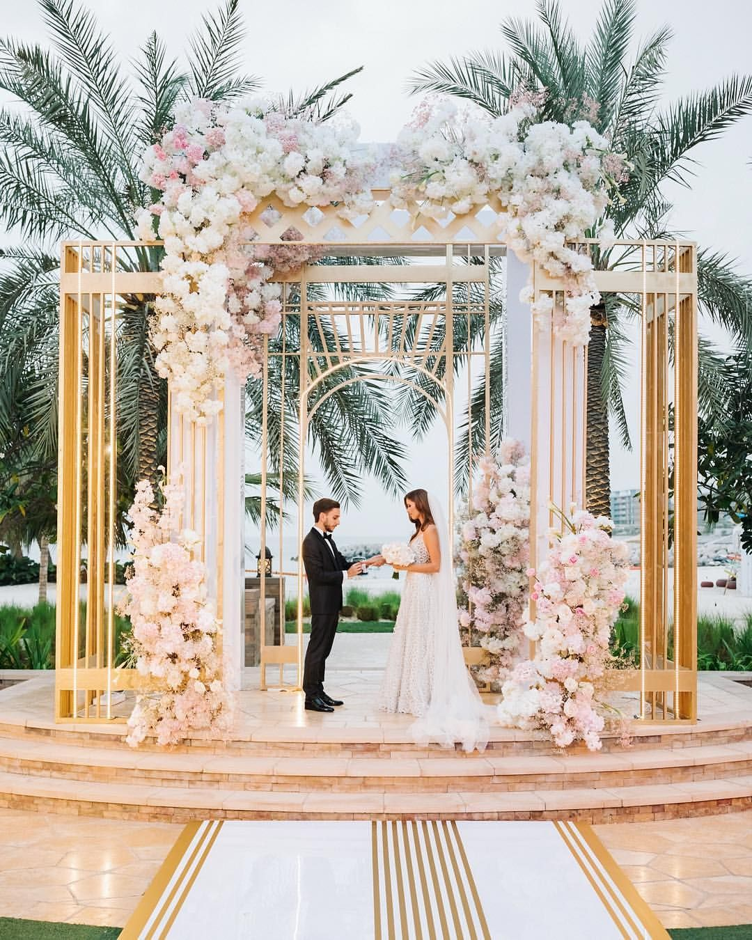 Elegant and sweet wedding in Dubai which took place one month ago  Nobody could expect a pouring rain in one hour after the ceremony but we… is part of Wedding -