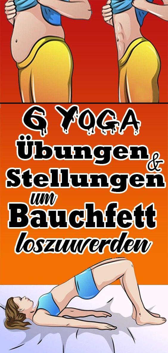 6 Yoga Übungen und Stellungen, um Bauchfett loszuwerden