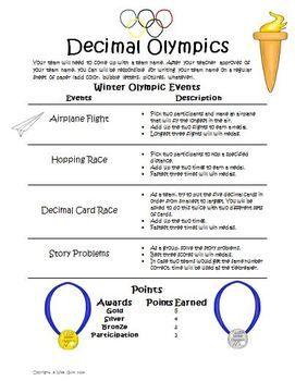 Desimaalilukuolympialaiset.