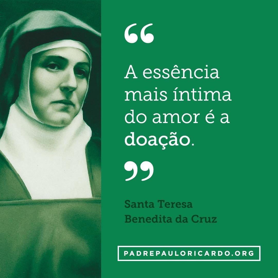 Santa Teresa Bendita Da Cruz Santa Edith Stein Frases A