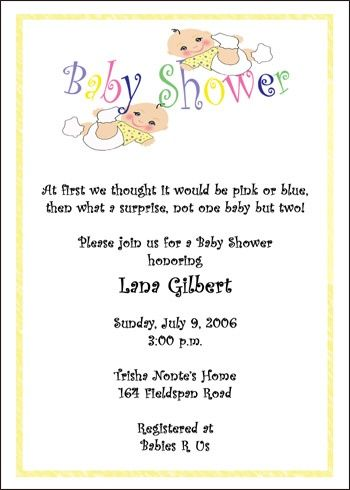 Baby Shower Card Sayings For Twins Baby Shower Baby Shower Card