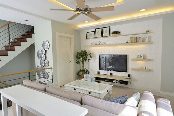A Neo French Provincial Townhouse In San Juan Townhouse Interior Interior Design Philippines Townhouse Designs