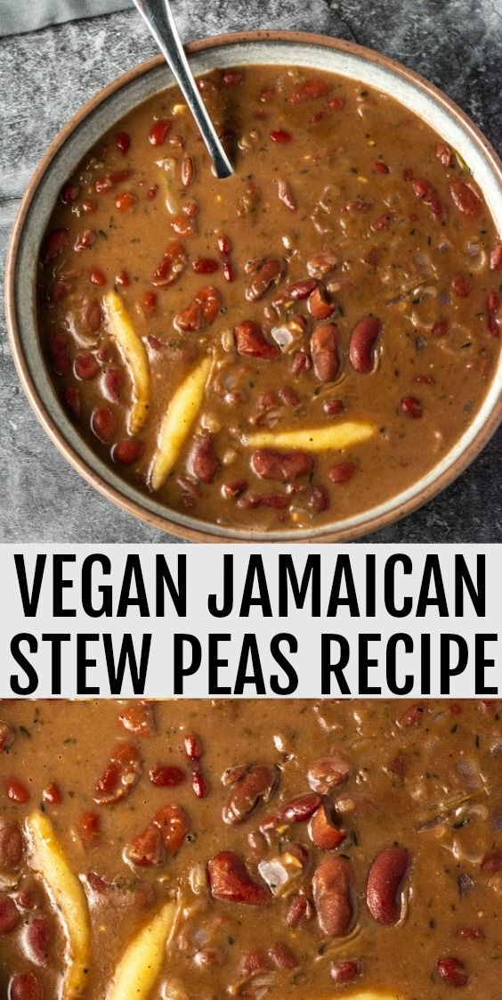 the best vegan jamaican stew peas a popular tasty and