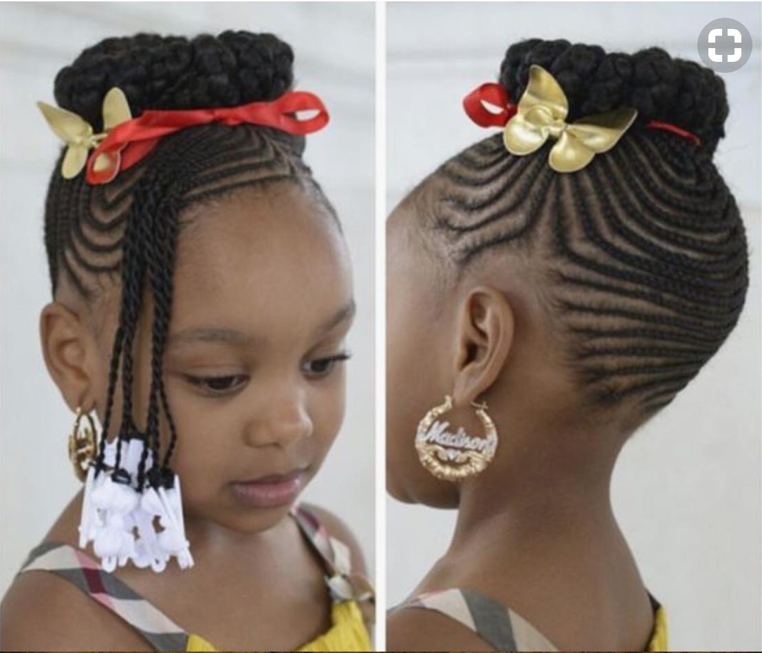 Kids cornrows black girls hairstyles pinterest cornrows black