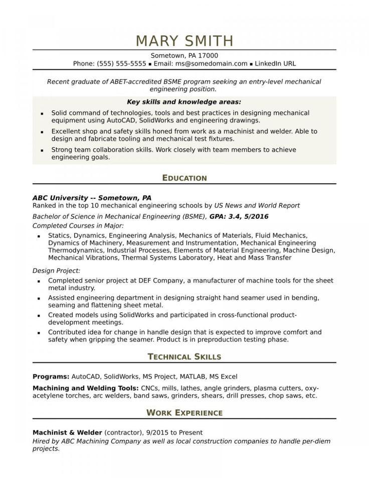 18++ Electrical engineer resume sample word format ideas in 2021