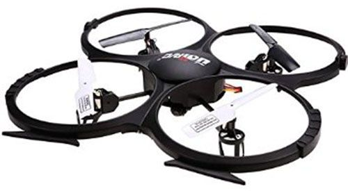 8. UDI CH 6 Axis Gyro RC Quadcopter