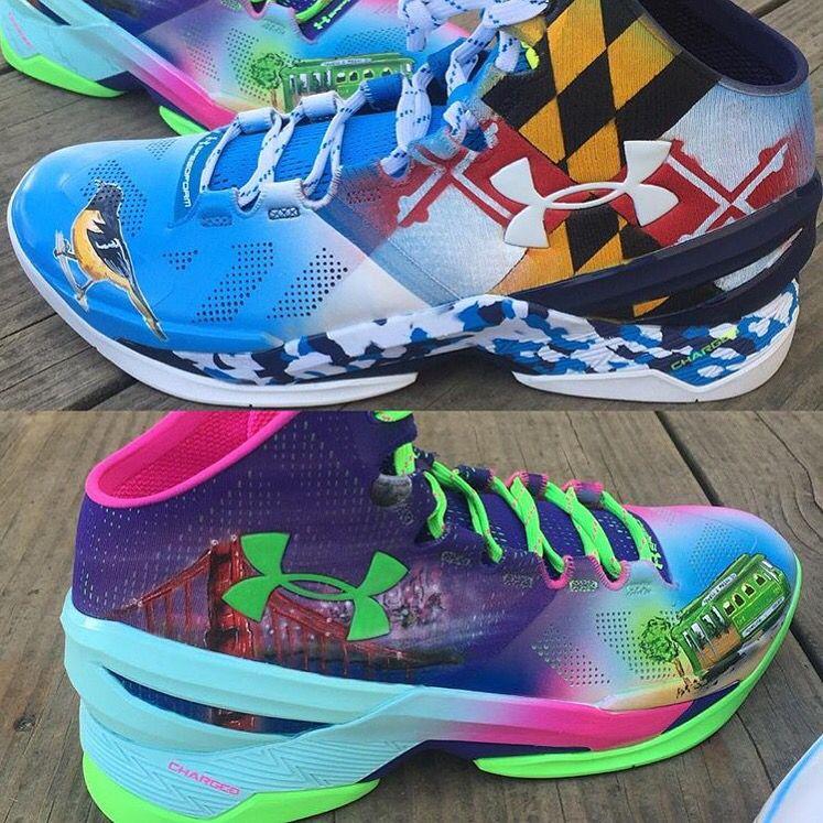 Baltimore / San Fran Shoes worn by Torrey Smith Hoka