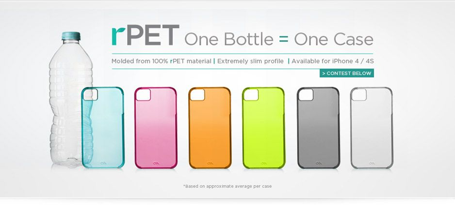 These Eco-friendly Case-Mate Cases + a homemade template = a ...