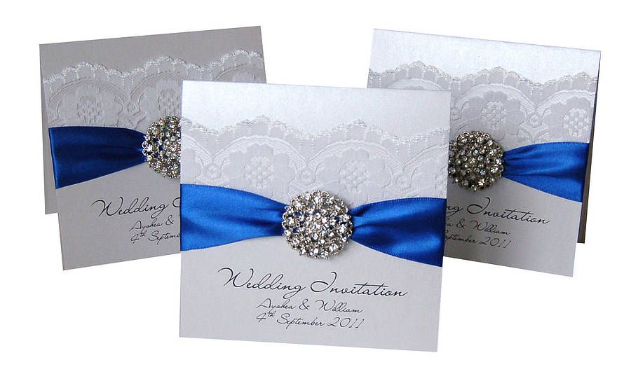 Royal Blue Wedding Invitation Cards: Royal Blue Wedding Theme On Pinterest