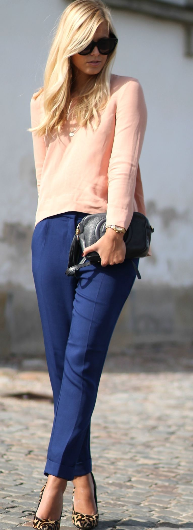 Color Blocking Outfit Idea by Natulia