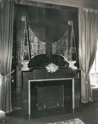 For Pilar Serge Roche S Fireplaces Fireplace Deco Art Deco