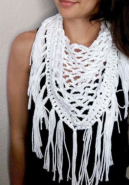 Ravelry: Crochet Fringe Scarf pattern by Michelle Greenberg | door ...