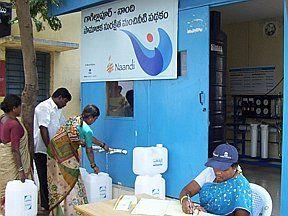 Akvo.org - GWC Water Kiosk in India