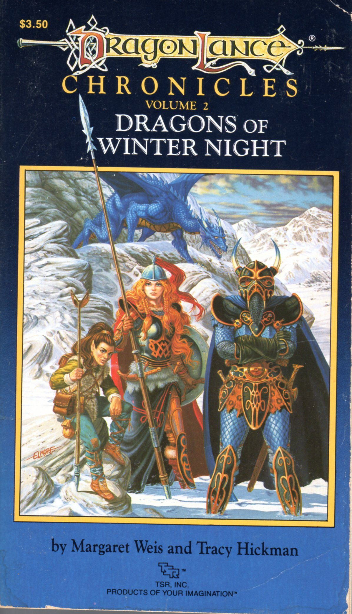 Dragonlance Chronicles Volume 2 Dragons Of Winter Night