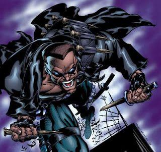 Tomb of Dracula Blade | ... vampiro estou falando do personagem blade o personagem blade foi