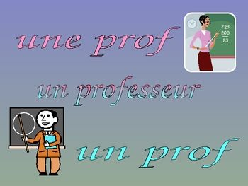 how to teach french adjectives